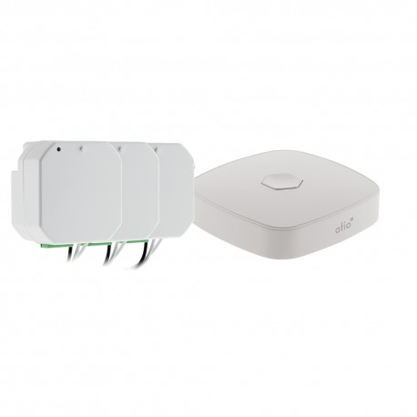 Pack volet roulant 1 passerelle WIFI + 3 modules