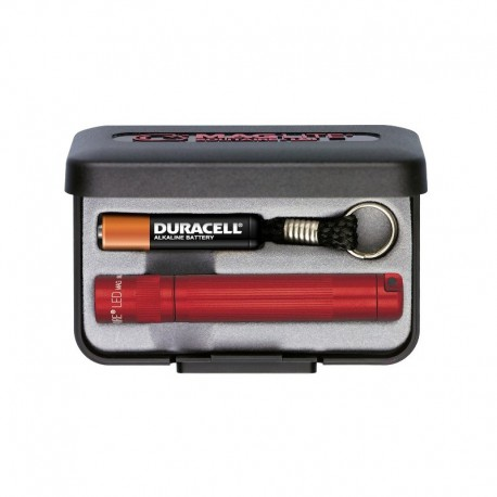 Maglite Solitaire K3A 1 pile AAA 8 cm - Rouge